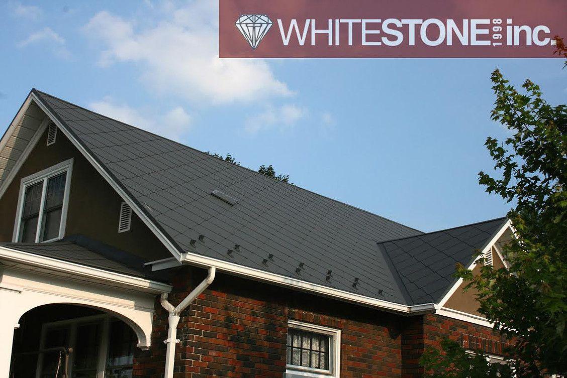 Jet Black Diamond Steel Shingles Steel Roofing Steel Shingles Roofing