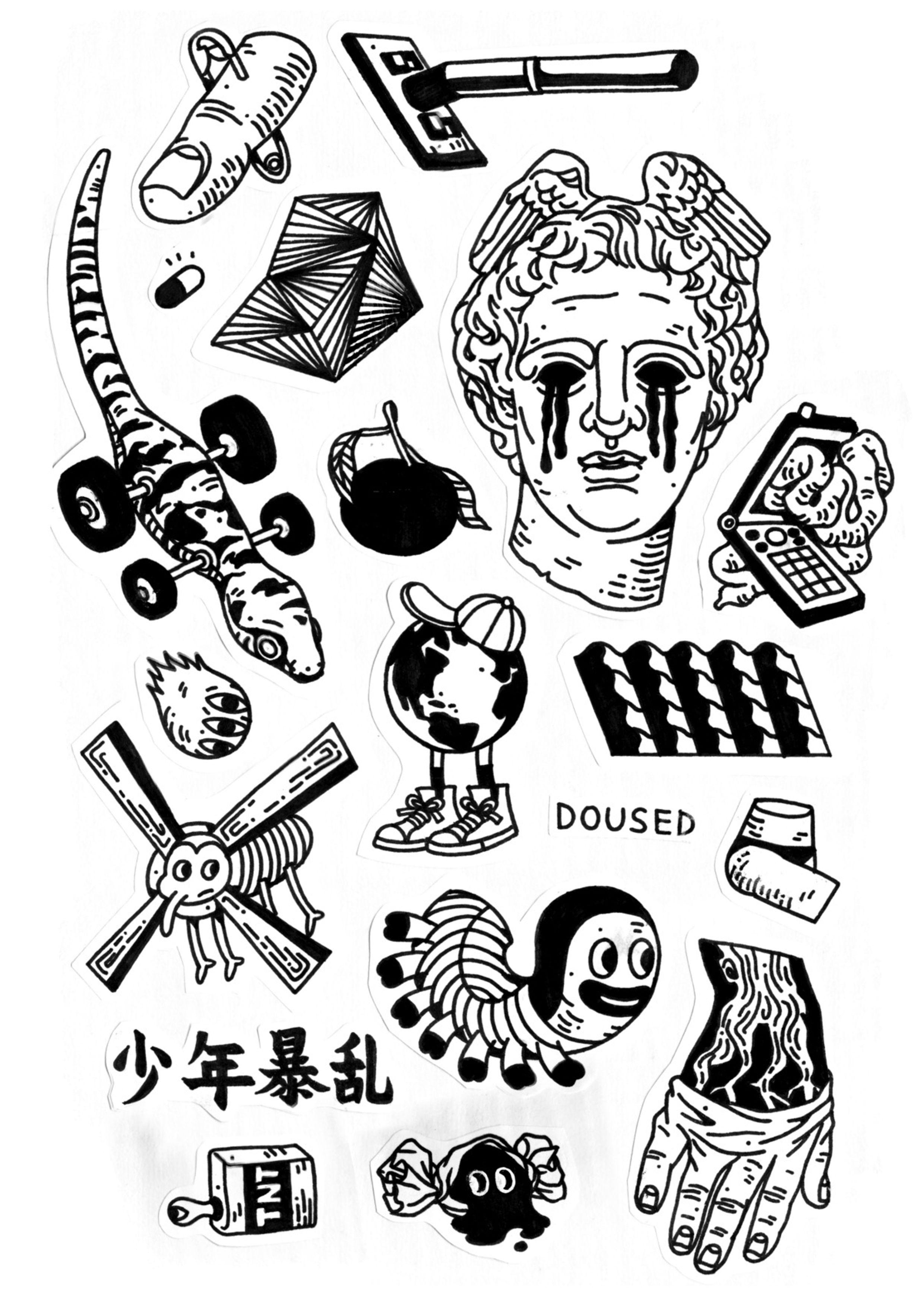Tattoo Arts Byfrancesjiao татуировка тату минимализм идеи для