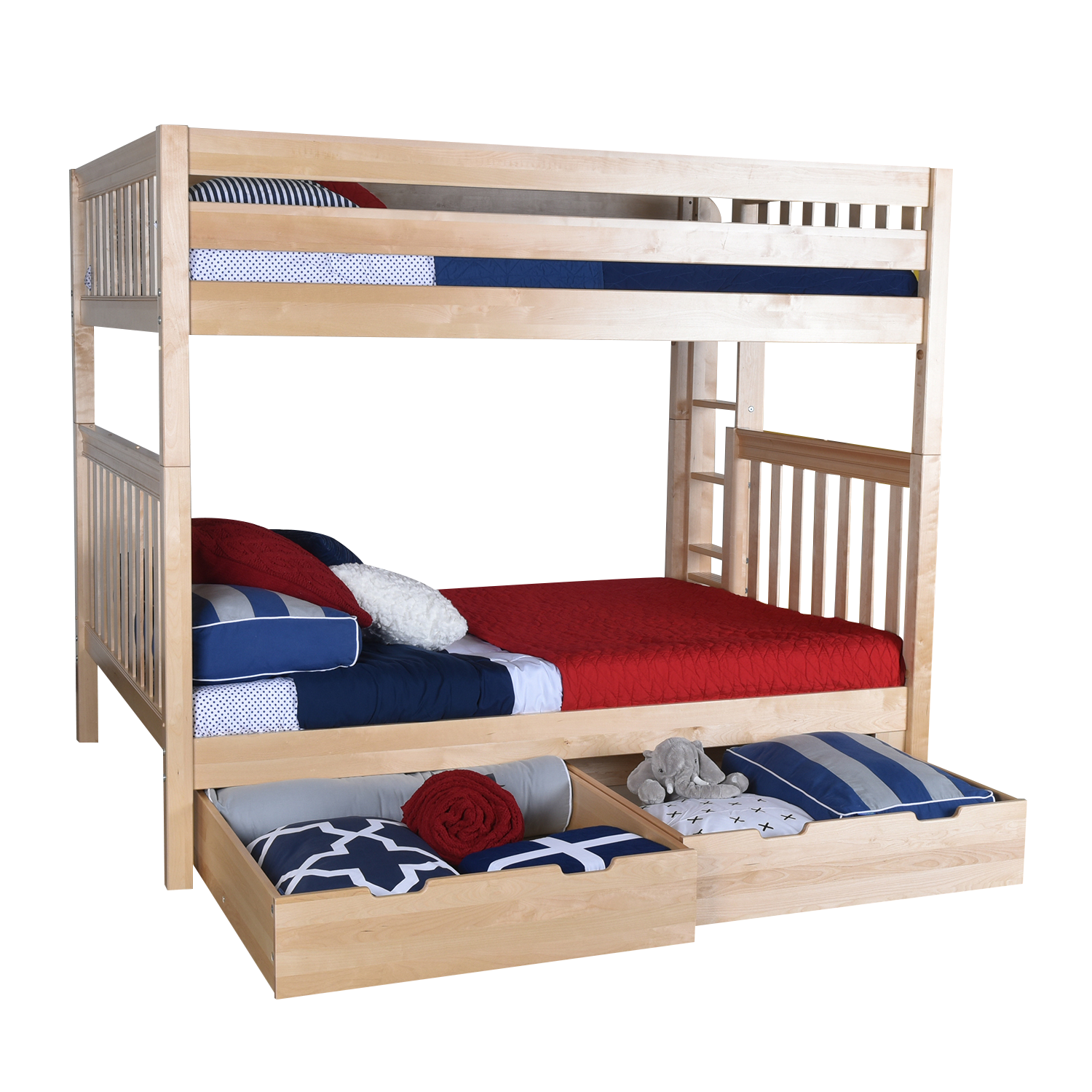The Maxtrix Queen Over Queen Xl Bunk Bed Is The Ultimate In