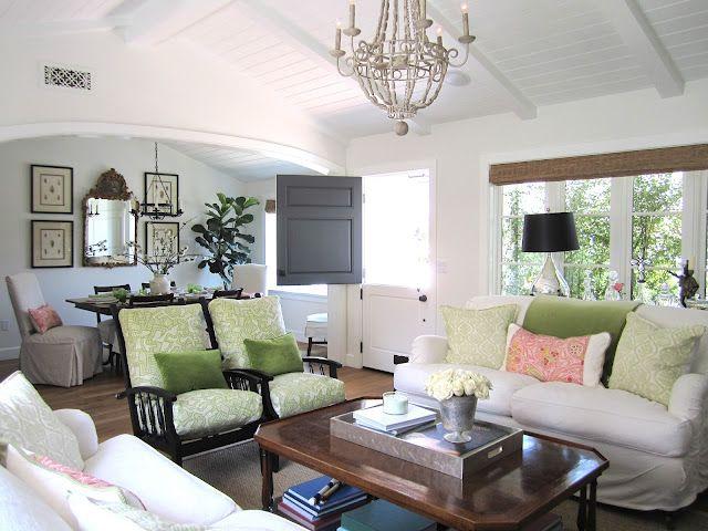 Spring/Summer Look in the Living Room La maison, Salon et Manger