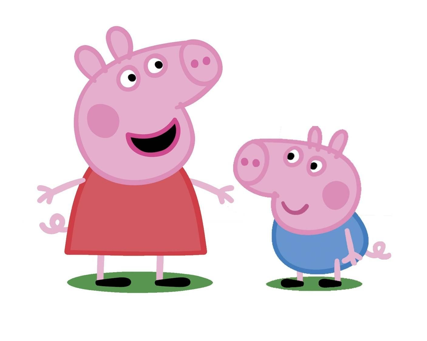 Buy Fine Decor Peppa Pig Official Childrens Kids Wallpaper Pink
