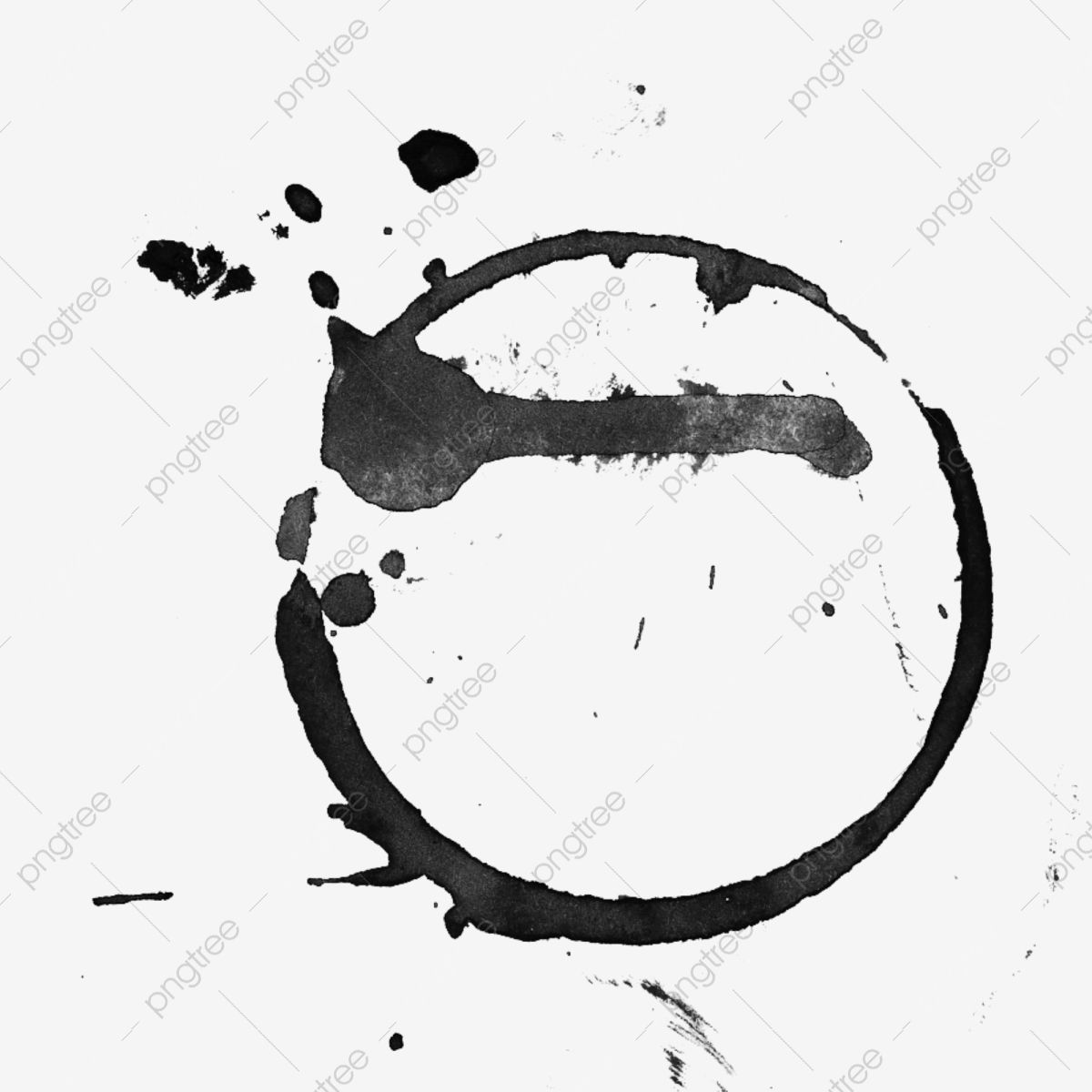 Circle Black Splashing Ink Watercolor Cartoon Hand Painted Ink Png Transparent Clipart Image And Psd File For Free Download Watercolor Graphic Graphic Design Background Templates Circle Clipart