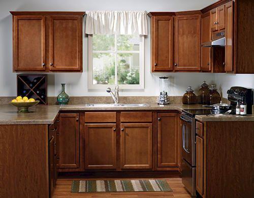 Value Choice 60 Erie Birch Standard 4 Door Sink Base Cabinet At