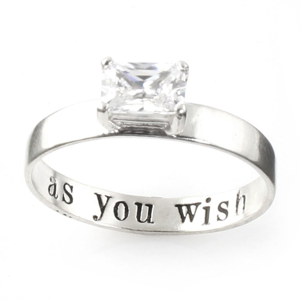 Princess Bride Engagement Ring