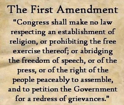 an analysis of the law respecting congress and an establishment of religion Establishment clause religion vs government the first amendment to the constitution was passed in 1791 it states congress shall make no law respecting an establishment of religion, or prohibiting the free exercise thereof or abridging the freedom of speech, or of the press or the right of the people peaceably to assemble.