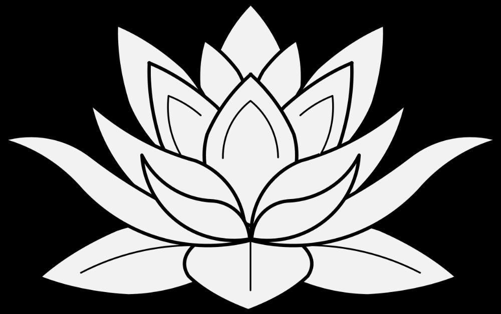Lotus Flower Drawing 20 Intricate Drawing Lotus Flower Lotus Flower Traceable Clipart 1229x773 Pn Lotus Flower Drawing Flower Art Drawing Lotus Flower Art