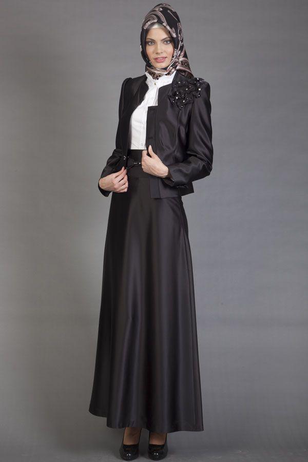 Tesettur Bayan Takim Elbise Modelleri Yine Cok Havali Ve Sik Fashion Dresses Nun Dress
