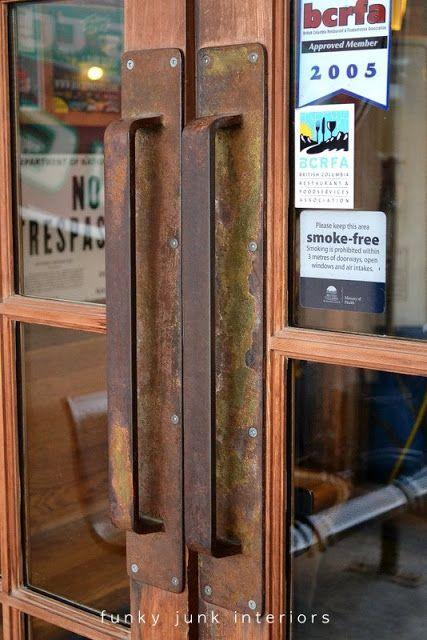 Vintage Barn Door Handles