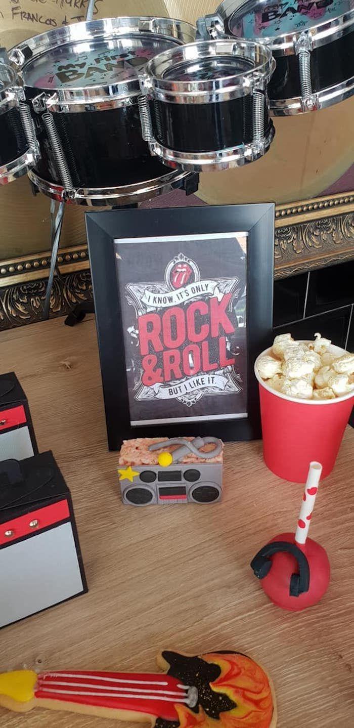 """Przyjęcie urodzinowe """"Born to Rock"""",  #* #Born #Przyjęcie #Rock #urodzinowe"""
