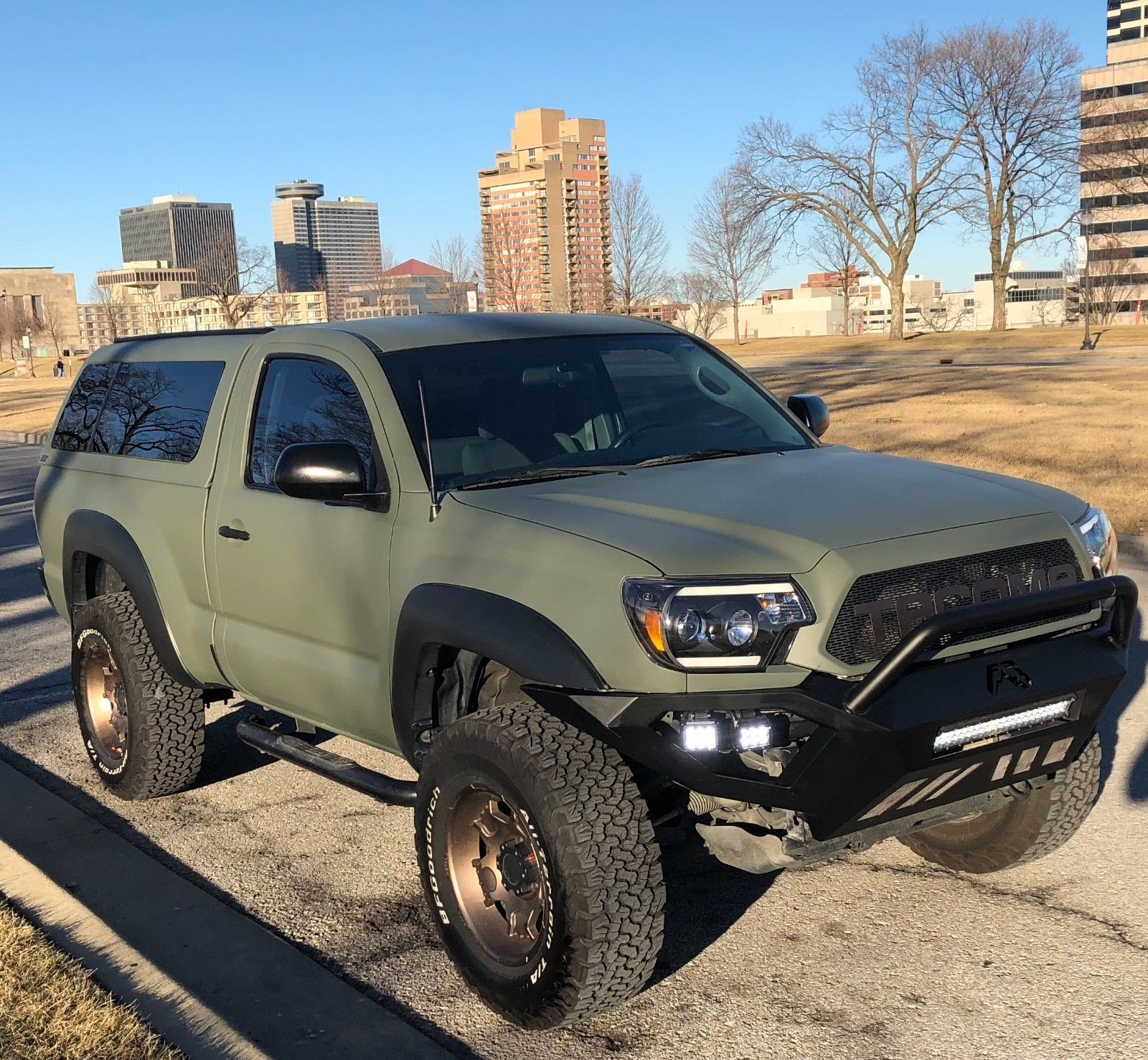 Used Toyota Campers For Sale: Camper Shell 2012 Toyota Tacoma Lifted