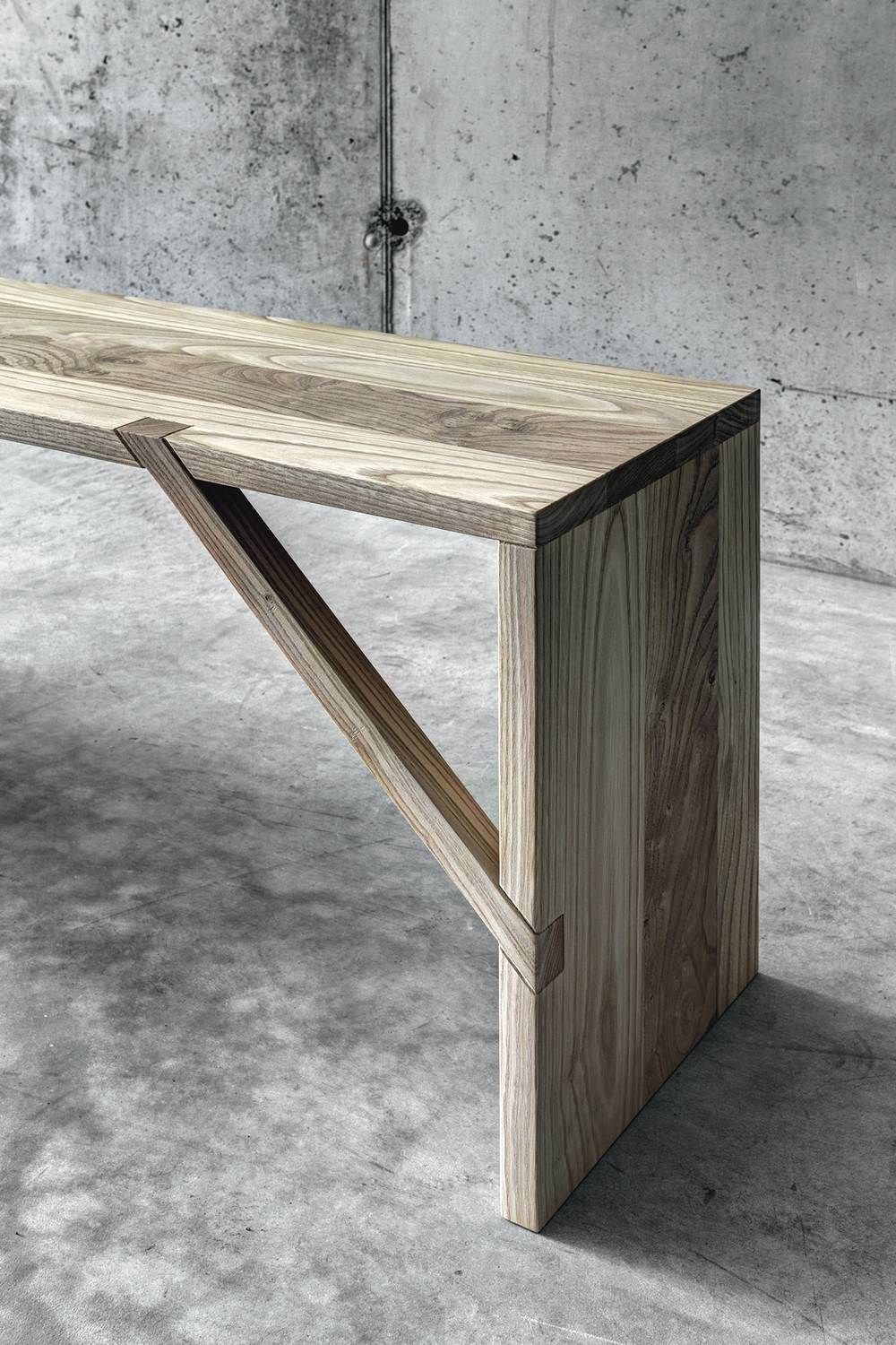 Creative Contemporary Design Inspired By Tradition Tables Benches And Bookshelves By Fioroni At Fuorisalone With Images Wood Joinery Wood Design Furniture Inspiration