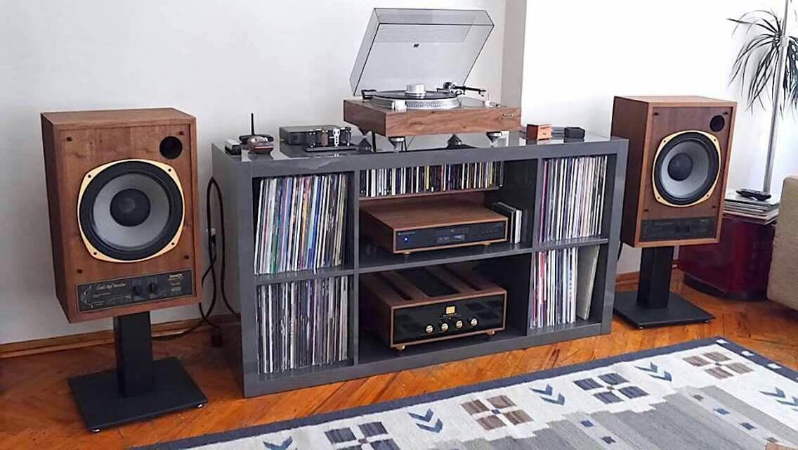 Nice home set up hifi setup lecteur vinyle - Impianto hi fi casa consigli ...