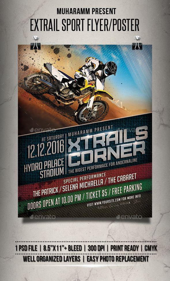 Extrail Sport Flyer / Poster | Pinterest