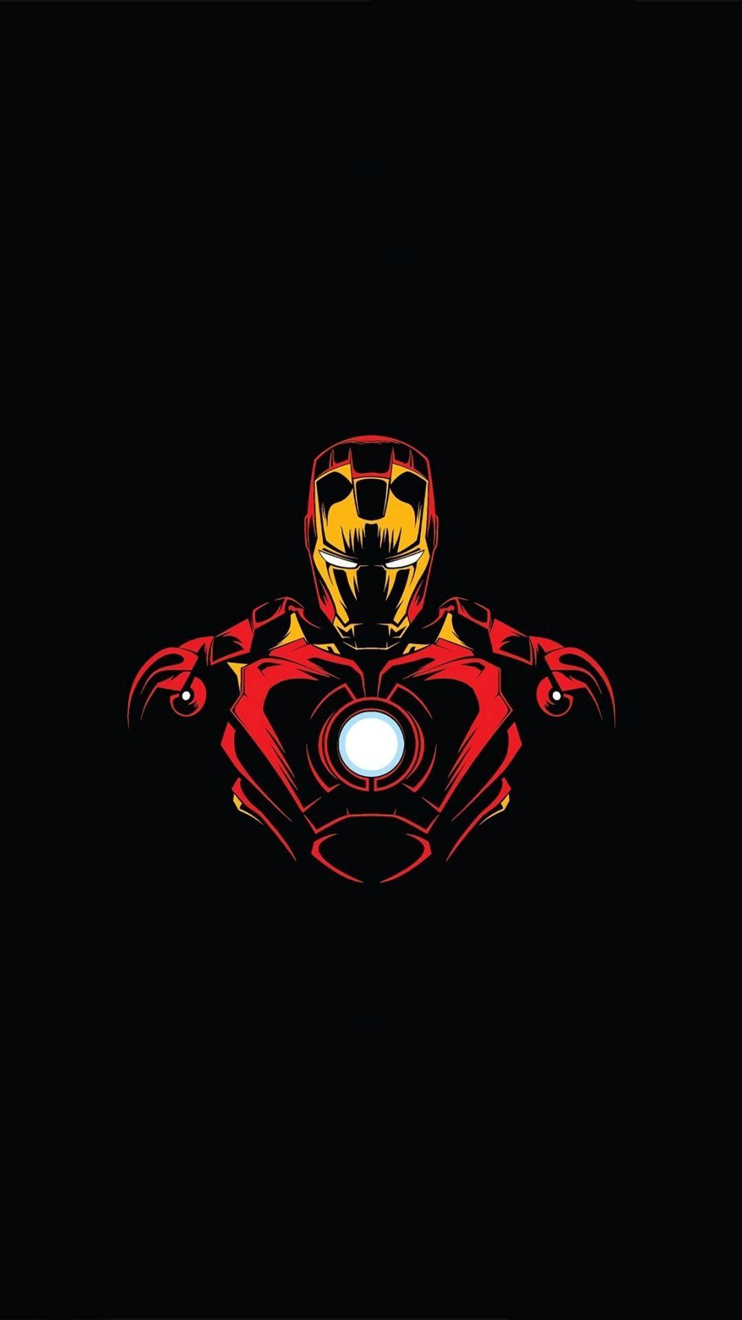 1080x1920 Marvel Hero Iron Man Minimalist Wallpaper Iron Man Art Iron Man Hd Wallpaper Marvel Wallpaper Hd