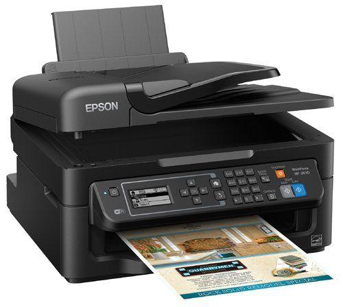 Epson WorkForce WF-2630 All-in-One Wireless Color Printer Copier Scanner Fax
