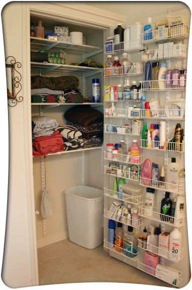 Creative Ways To Organize Your Closet Doors Bottle And Storage Shelves