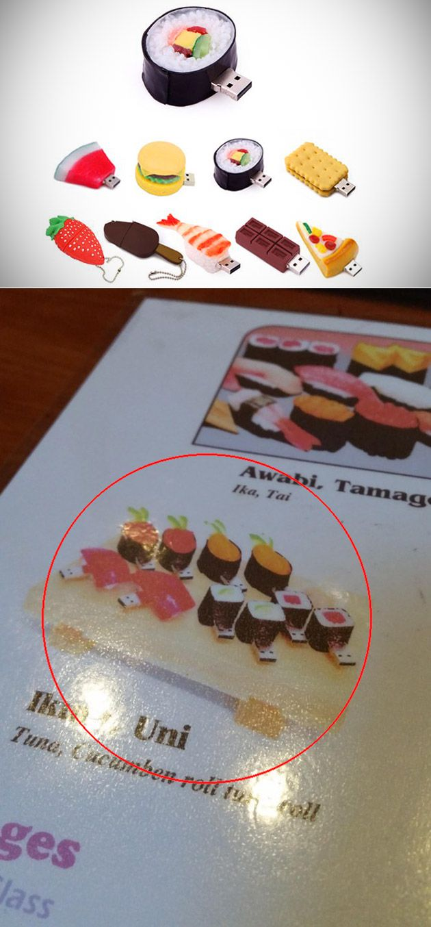 Restaurant with USB Sushi On its Menu and 21 More Strange Things You Don't See Everyday - TechEBlog