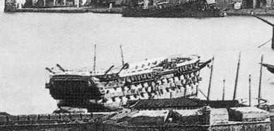Navio Reina Doña Isabel II. Estado 1872 Cartagena