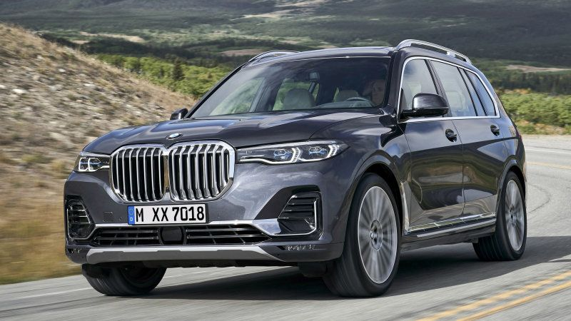 2019 BMW X7 is BMW's biggest SUV with its biggest grille