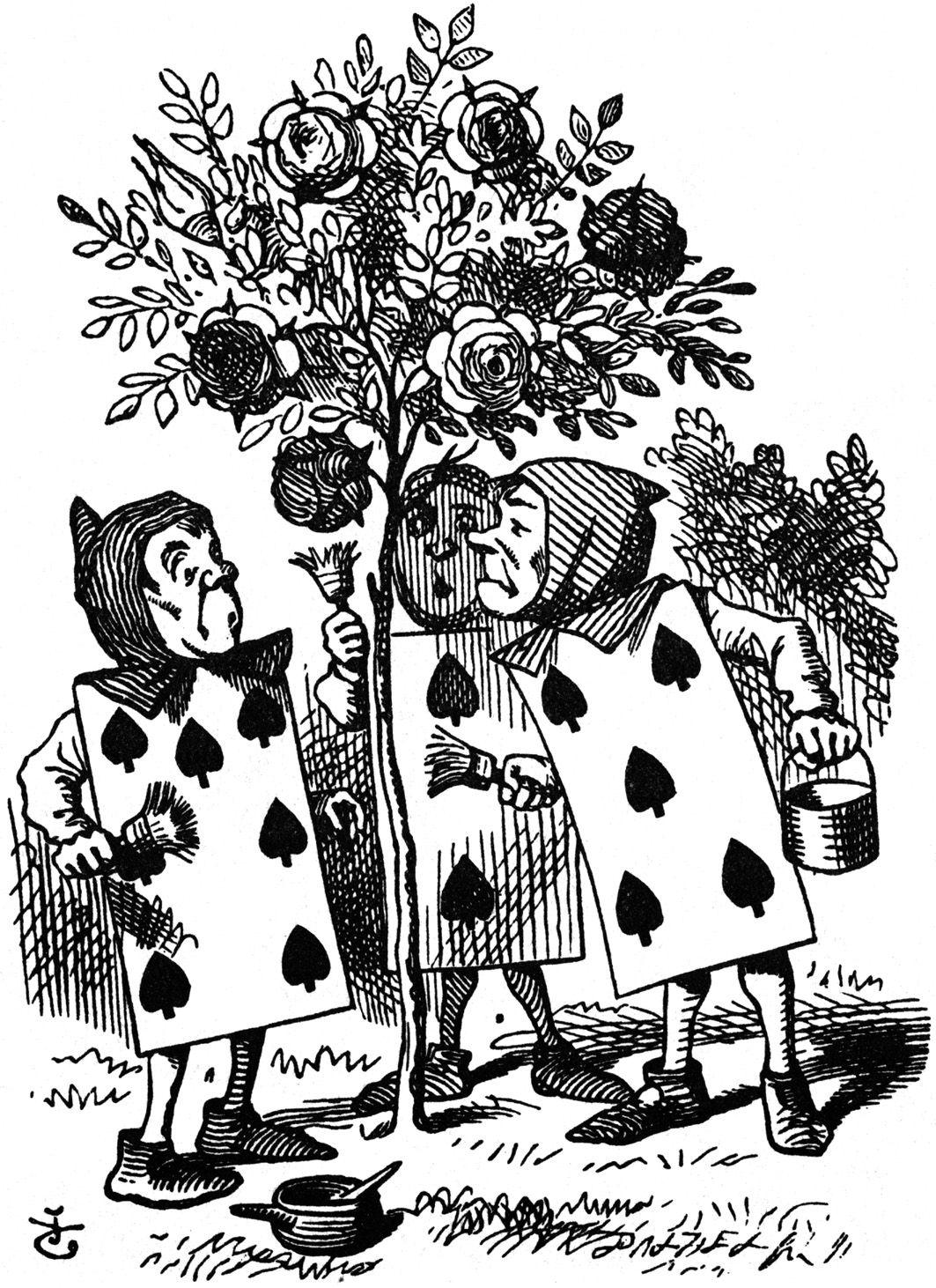 Alice in Wonderland Art Illustrations | Original illustration by ...