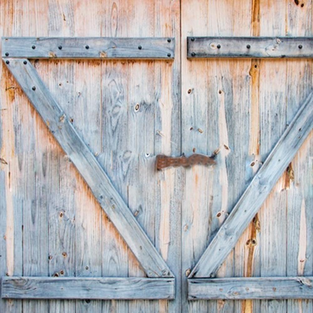 Vintage Rustic Barn Door Shower Curtain Old Wood Board Bathroom Shower Curtain Unbranded Wooden Garage Doors Living Room Decor Rustic Rustic Decor Curtains