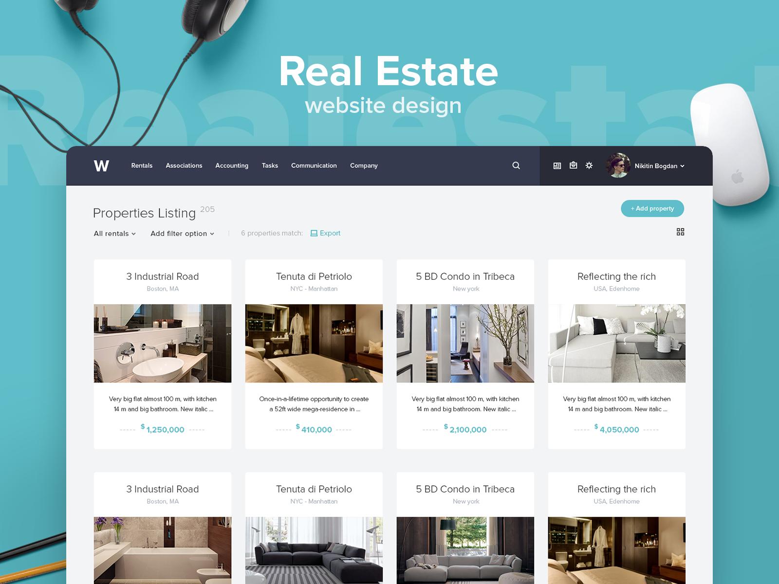Real Estate Website Design Real Estate Website Design Real Estate Website Real Estate