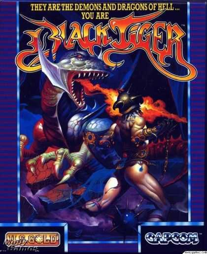 Atari ST Games - Black Tiger | Retro Gaming | Andrew jones
