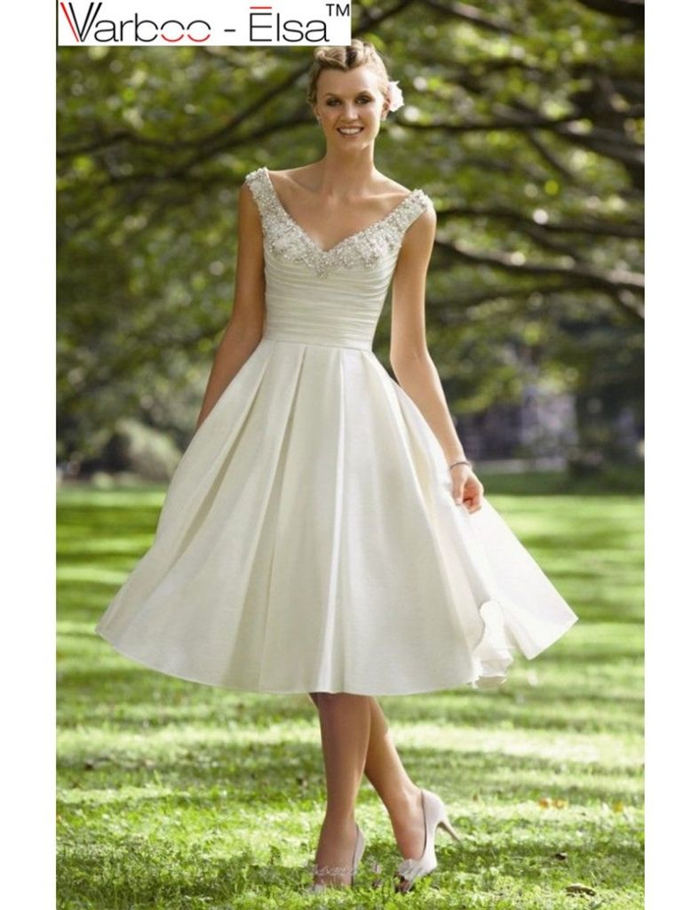 Guest at a wedding dress  simple knee length wedding dresses  plus size dresses for wedding