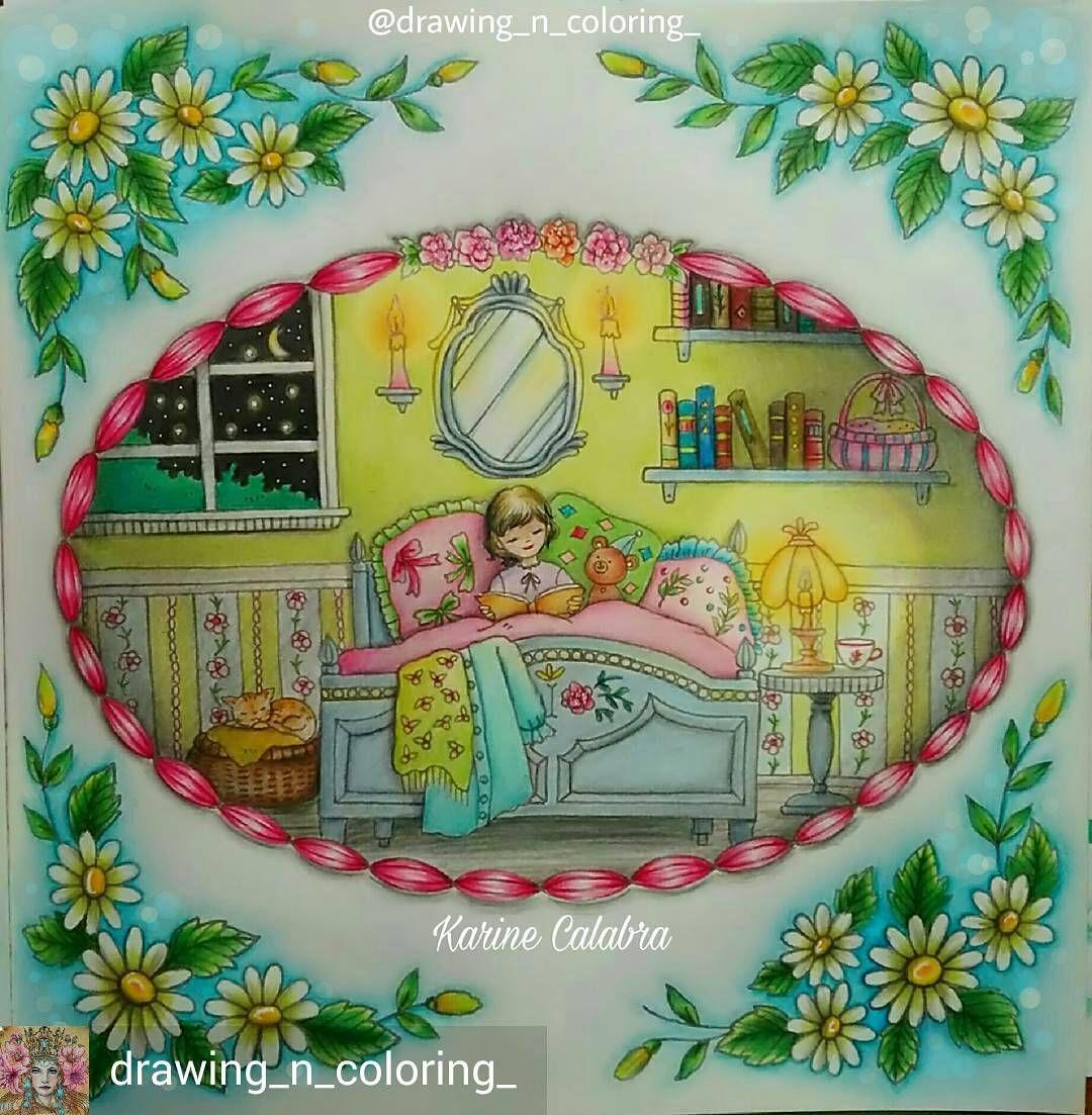 @Regrann #wonderfulcoloring from @drawing_n_coloring_ - #eriy #romanticcountry #romanticcountrycoloringbook #coloringbook #livredecoloriage #bedtime #bedtimestories #coloringpencils #marcoraffinepencils #coloriage #coloring #coloriagepouradulte #coloringforadults #coloriageantistress #colouring #mycreativeescape #mycolorfulmoment #divasdasartes #bayan_boyan #regrann