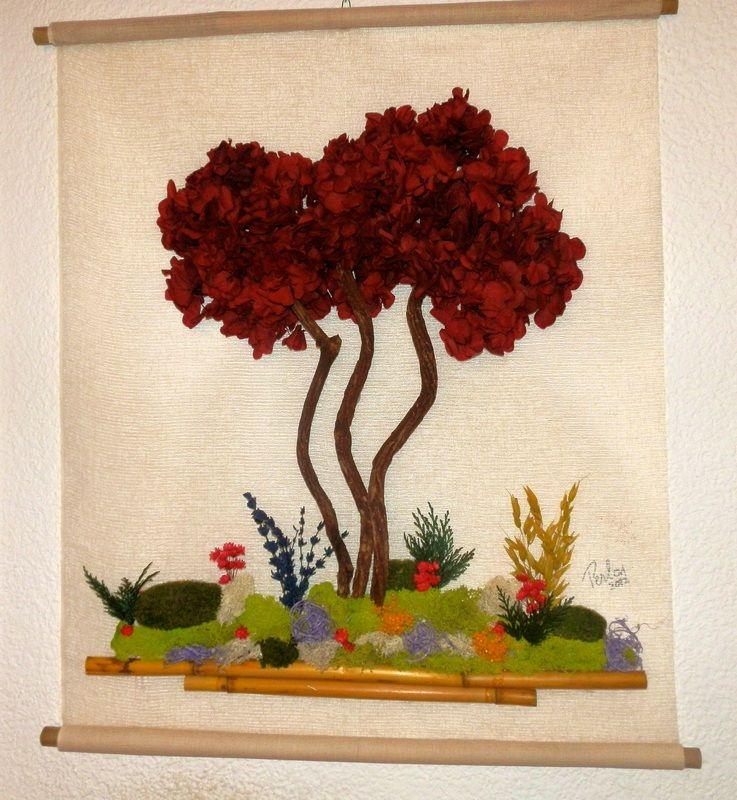 cuadros realizado con flores secas - Buscar con Google FLORES Y - flores secas