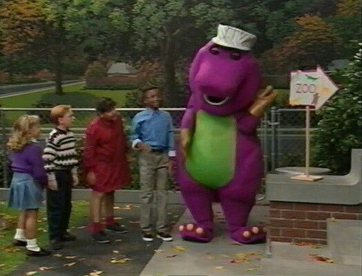 Barney S Alphabet Zoo Barney Friends Kids Tv Shows Barney