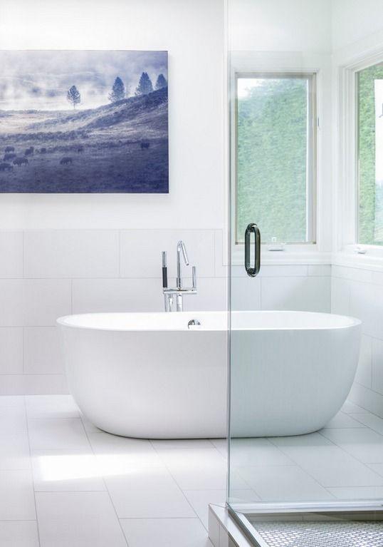 Boyce Acrylic Freestanding Tub Classic Minimalist Decor