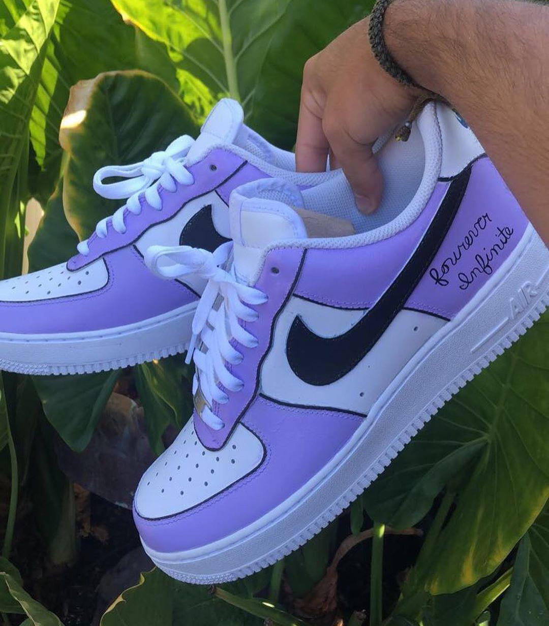 pulvre #ayakabı #nike #aır #lila #trend in 2020 | Nike air