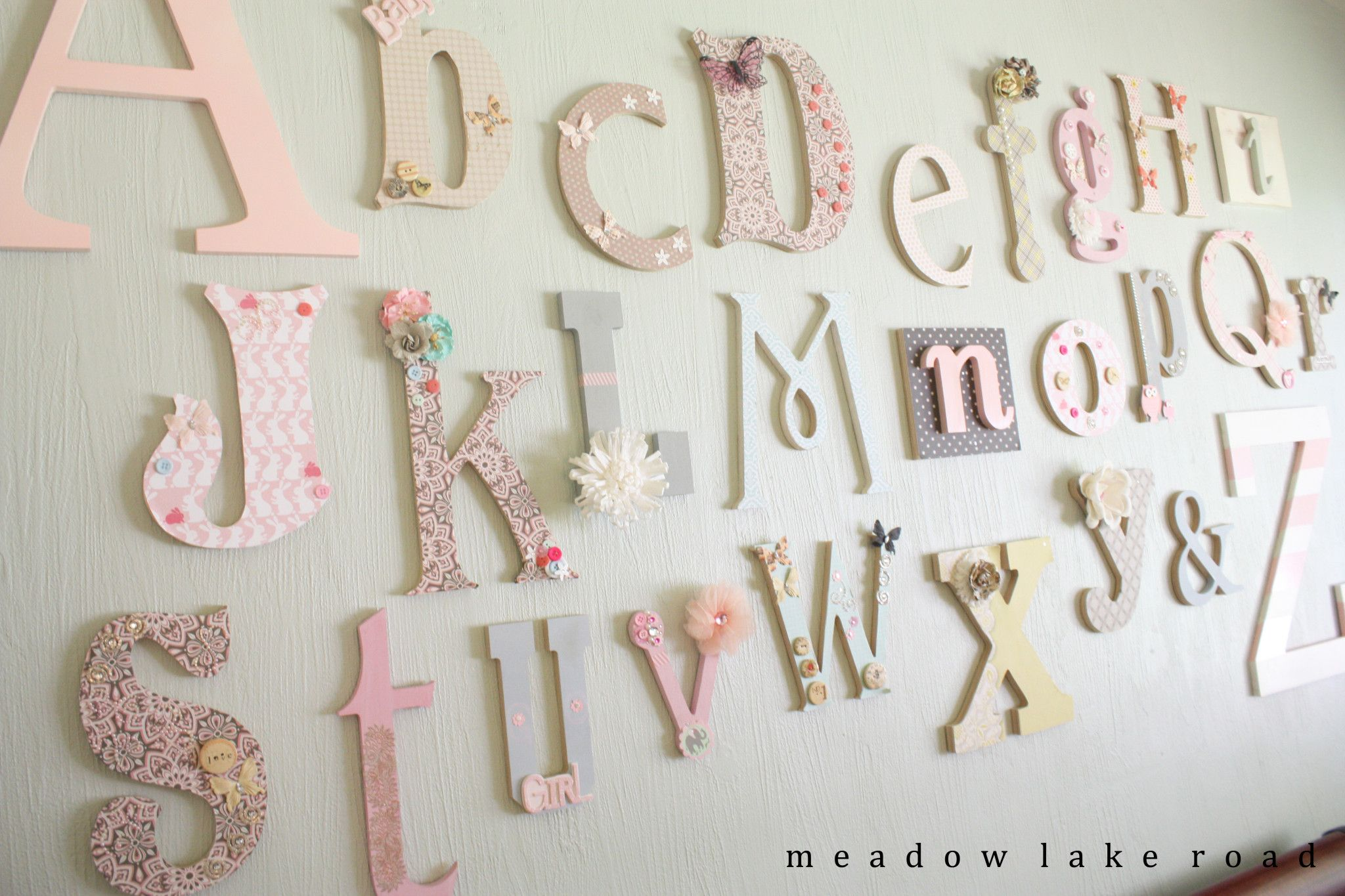 nursery alphabet wall a baby shower activity alphabet wall