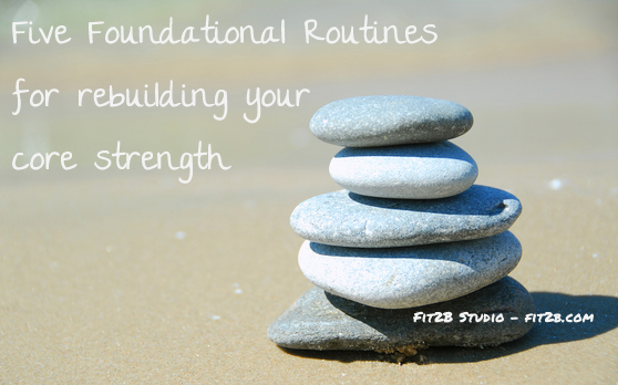 Five simple routines - each 12 minutes or less - that are designed to help the most broken tummies rebuild!