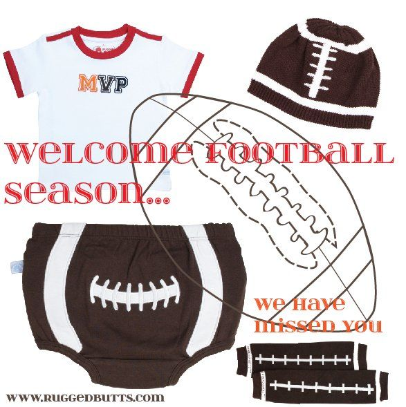 welcome football season in style! adorable duds for your little guy!