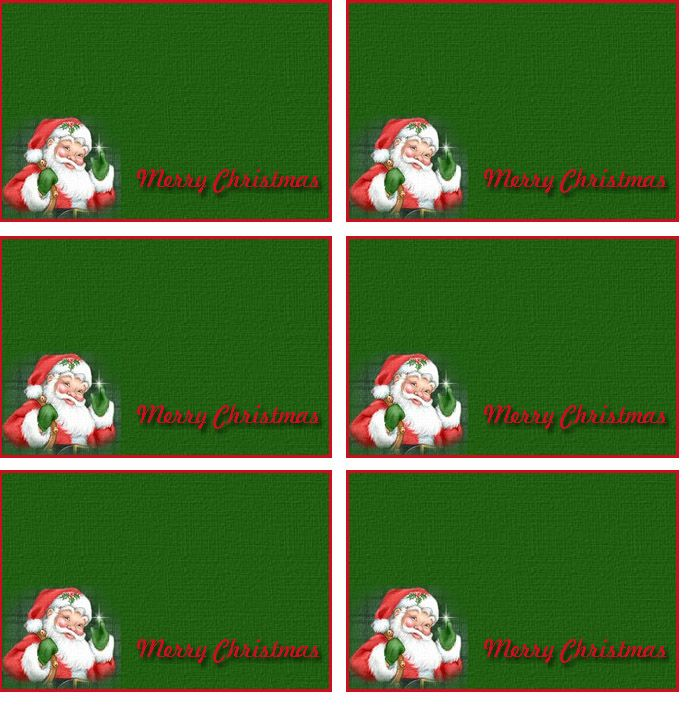 Free Printable Christmas Labels Templates