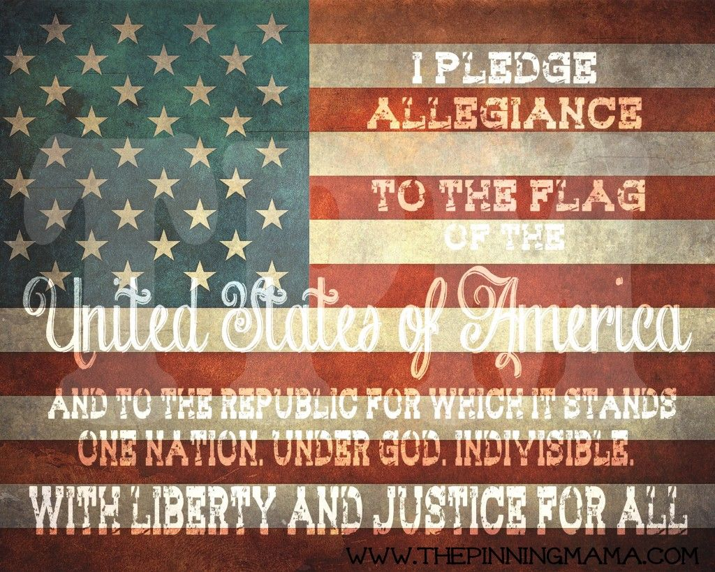 Free Printable 4th Of July Patriotic Word Art By Www Thepinningmama Com Fourth Memorial Day Veteran What Doe Mean Pledge Allegiance To Me Republic In Justice The