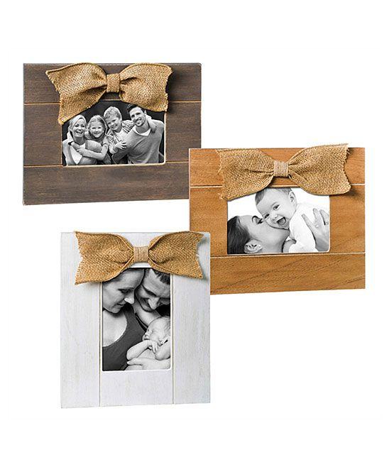 Wood Bow Frame - Set of Three