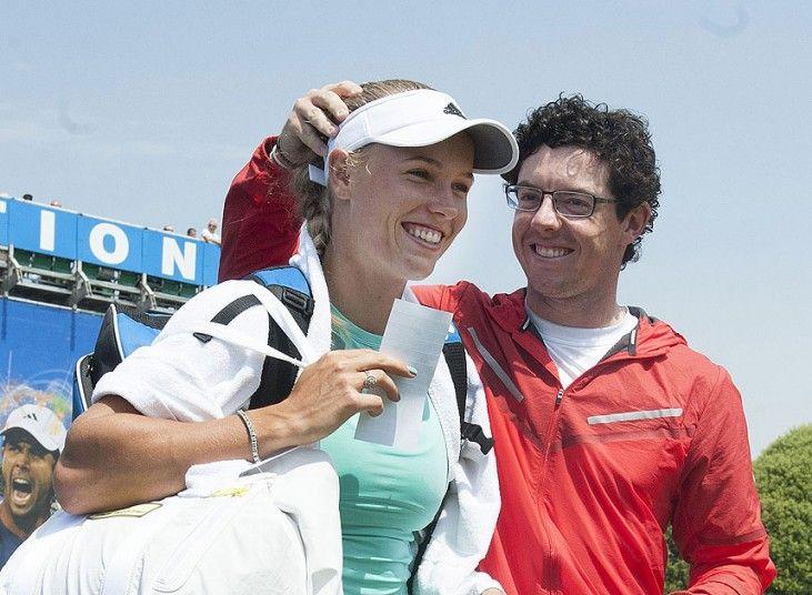 Rory Mcilroy And Caroline Wozniacki In Pictures Rory Mcilroy Caroline Wozniacki Rory