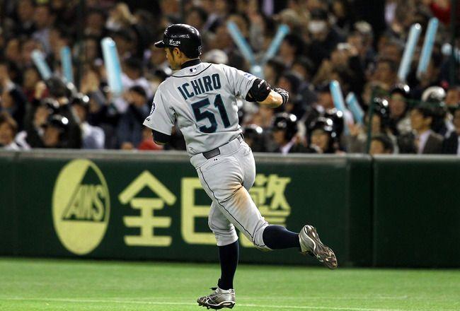 March 29 2012 Mariners Vs Athletics Major League Baseball Says Goodbye To The Tokyo Dome Http Bleacherreport Com Articles 1123 Baseball Japan Nippon