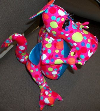 I've got the spots dragon I made in 2013.