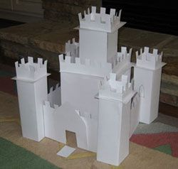 Gingerbread Castle Template Home Sweet Home Gingerbread