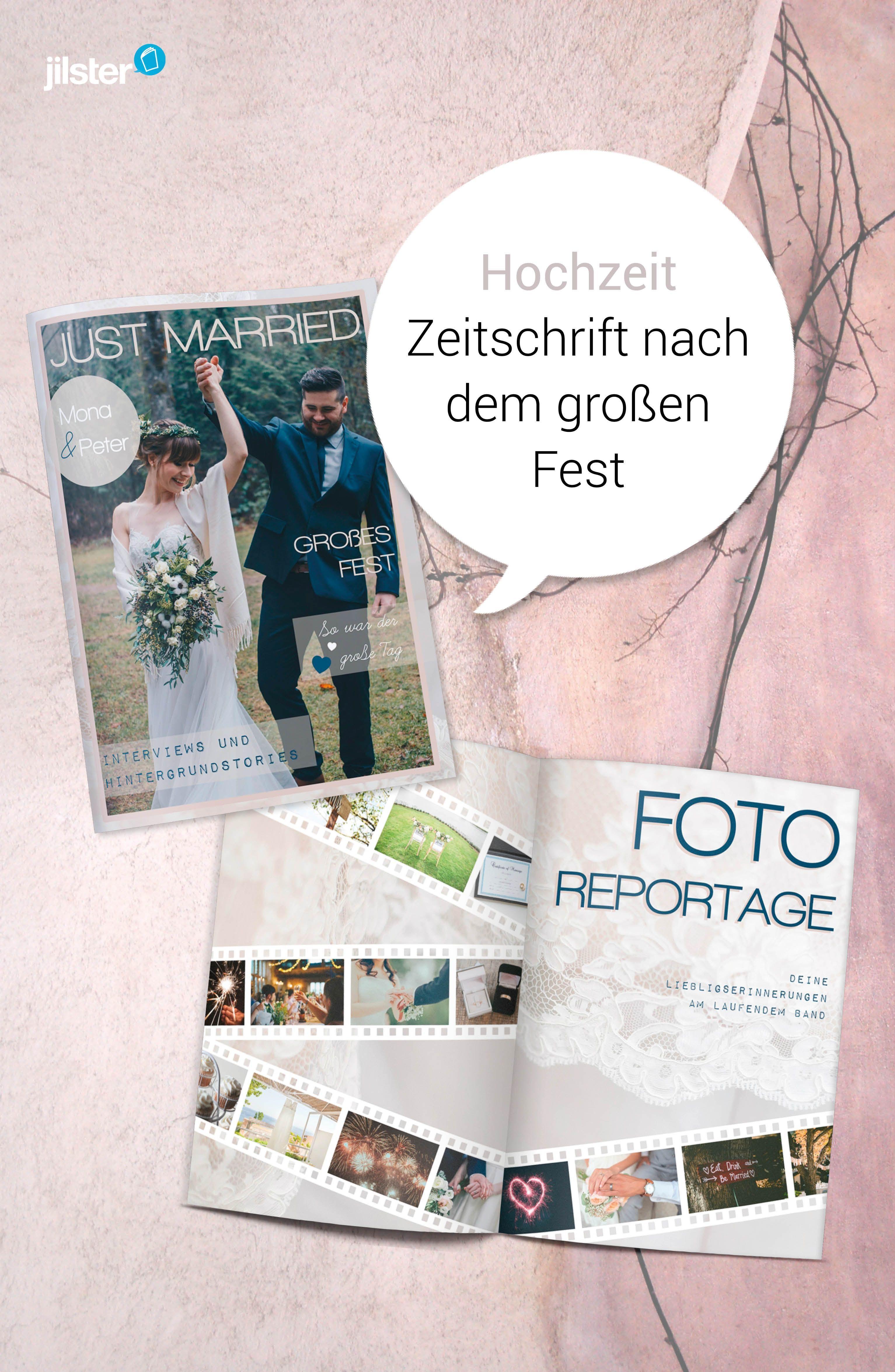 Hochzeit Fotobuch Hochzeit Hochzeitszeitung Und Zeitschriften