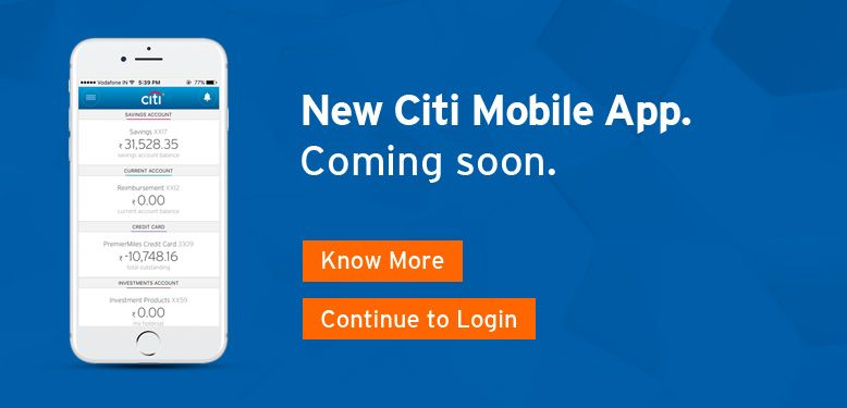 Citi India Credit Card Loan Investment Insurance Banking Wealth Management Investing Credit Card Loans