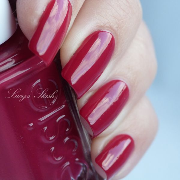 Lucy\'s Stash: Essie Raspberry - review and swatches | Hair and ...