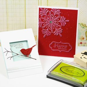 Great cards by Julie Ebersole for Impress Rubber Stamps