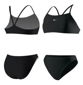e5e42cc403c50 Nike Women s Core Solid Two-Piece Swimsuit