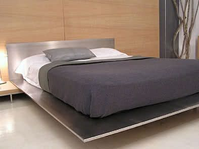 stainless steel bed frame more - Steel Bed Frames
