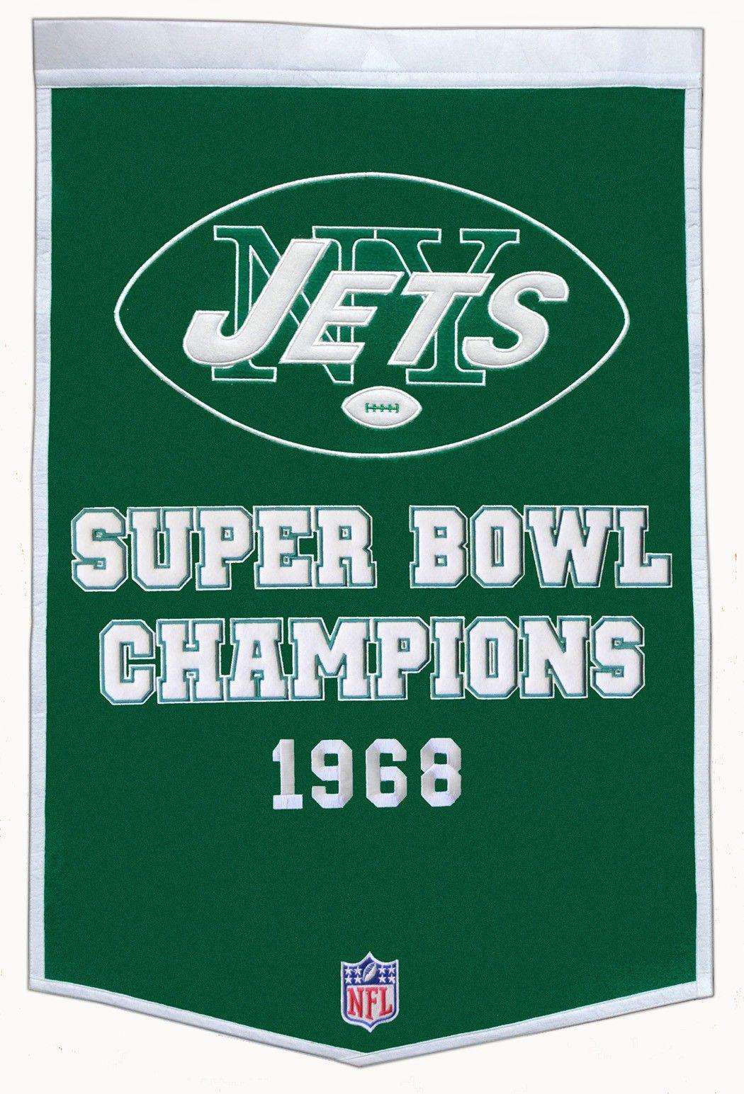 4029bfbcd69 1969 Superbowl Champions - NY JETS | J-E-T-S Jets Jets Jets! | New ...